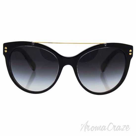 Dolce and Gabbana DG 4280 2955/8G - Top Black On Gold/Grey G