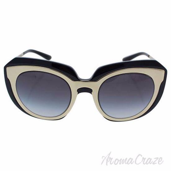 Dolce and Gabbana DG 6104 501/8G - Pole Gold-Black/Grey Grad
