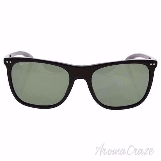 Giorgio Armani AR 8048Q 5017/9A - Black/Green Polarized by G