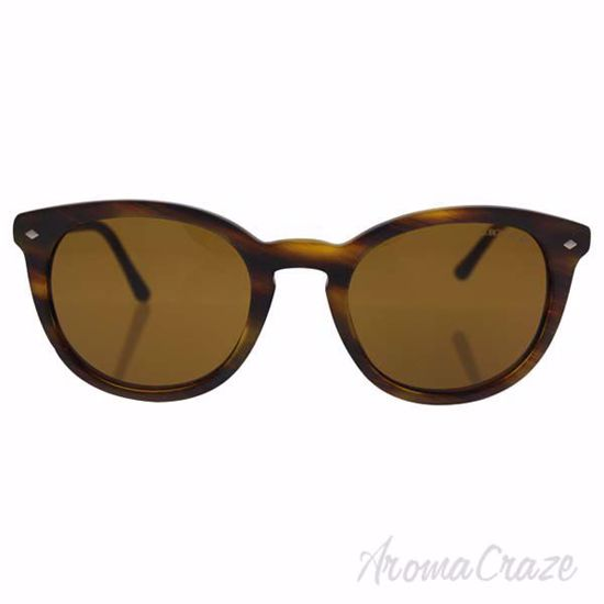 Picture of Giorgio Armani AR 8060 5404/53 Frames of Life - Striped Matte Light Brown/Brown by Giorgio Armani for Unisex - 50-21-145 mm Sunglasses