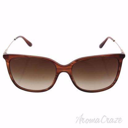 Giorgio Armani AR 8080 5488/13 - Striped Brown/Brown Gradien