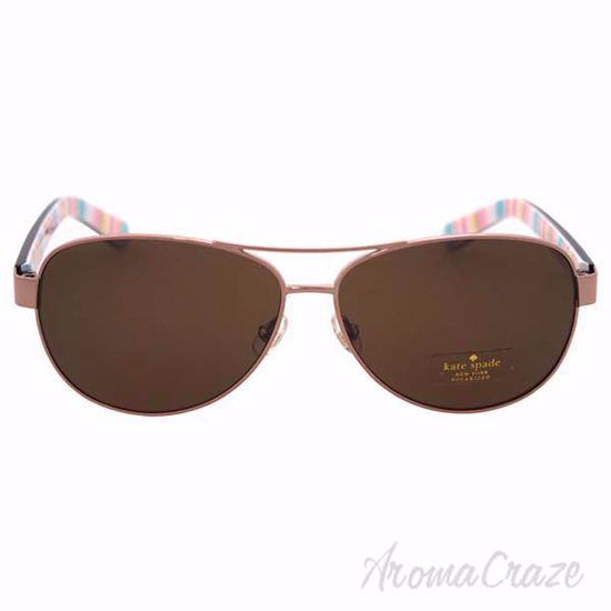 Kate Spade Dalia2/P/S ORNF VW - Red Gold Polarized by Kate S