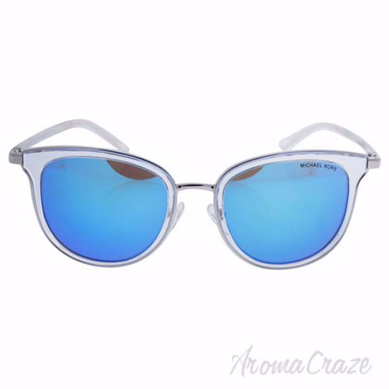 Michael Kors MK 1010 110525 Adianna I - Clear Silver/Blue by