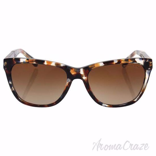 Picture of Michael Kors MK 2022 316913 Rania II - Tiger Tortoise/Brown Gradient by Michael Kors for Women - 54-17-135 mm Sunglasses