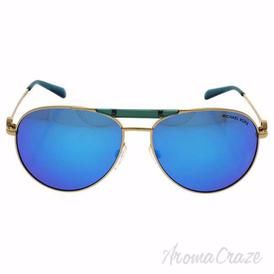 Picture of Michael Kors MK 5001 109725 Zanzibar - Gold Turquoise/Teal Blue by Michael Kors for Women - 58-14-135 mm Sunglasses