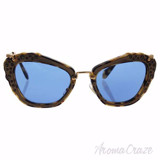 Picture of Miu Miu MU 04Q DHF-0A2 - Gold Marble/Blue by Miu Miu for Women - 55-24-140 mm Sunglasses