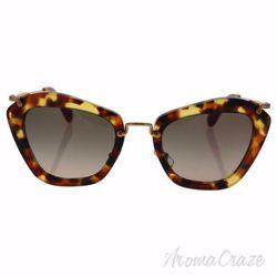 Miu Miu MU 10N UBR-3D0 - Light Havana/Brown Gradient by Miu Miu for Women - 55-24-140 mm Sunglasses