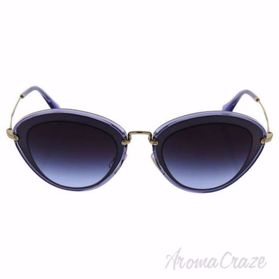 Picture of Miu Miu MU 51R UFE-2F0 - Blue/Light Violet by Miu Miu for Women - 52-26-140 mm Sunglasses