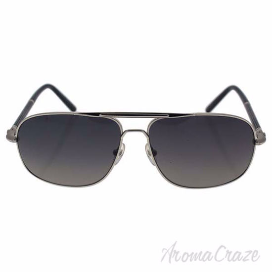 Picture of Mont Blanc MB513S 16B - Shiny Palladium Silver/Grey Gradient by Mont Blanc for Men - 61-14-140 mm Sunglasses