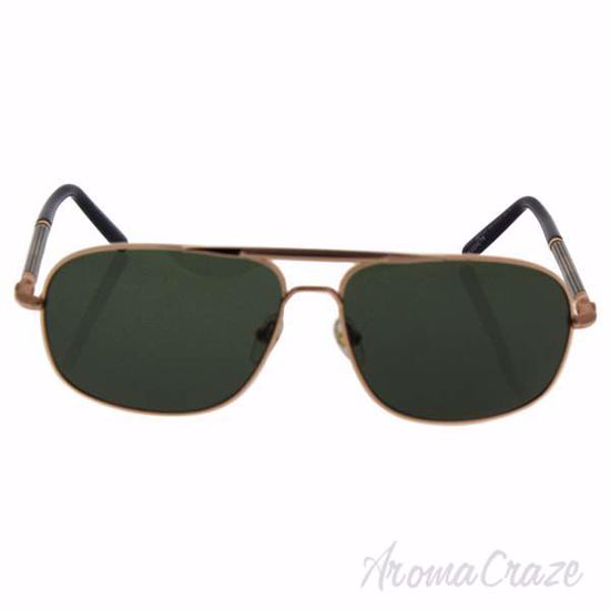 Picture of Mont Blanc MB513S 30N - Shiny Endura Gold/Green by Mont Blanc for Men - 61-14-140 mm Sunglasses