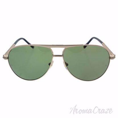 Mont Blanc MB517S 28R - Rose Gold/Green Polarized by Mont Bl