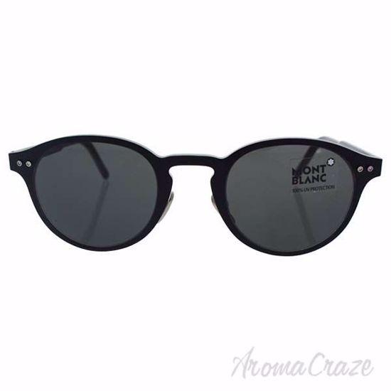 Mont Blanc MB585S 02A - Matte Black/Smoke by Mont Blanc for