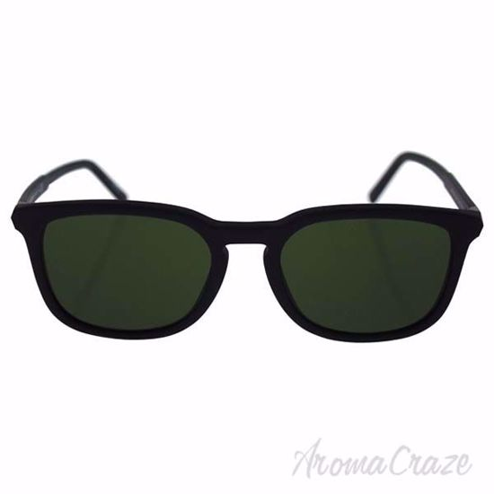Picture of Mont Blanc MB586S 02N - Matte Black/Green by Mont Blanc for Men - 52-19-145 mm Sunglasses