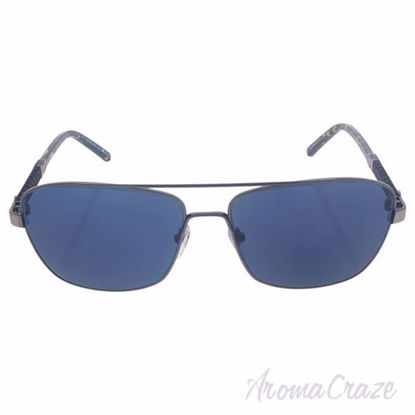 Mont Blanc MB589S 08V - Shiny Gumetal/Blue by Mont Blanc for