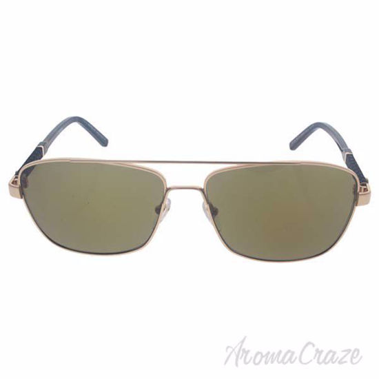 Picture of Mont Blanc MB589S 28H - Shiny Rose Gold/Brown Polarized by Mont Blanc for Men - 60-15-145 mm Sunglasses