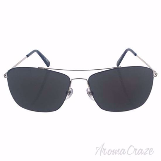 Picture of Mont Blanc MB594S 16A - Shiny Palladium/Smoke by Mont Blanc for Men - 59-15-145 mm Sunglasses