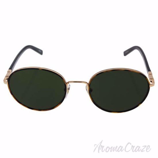 Mont Blanc MB598S 52N - Dark Havana/Green by Mont Blanc for