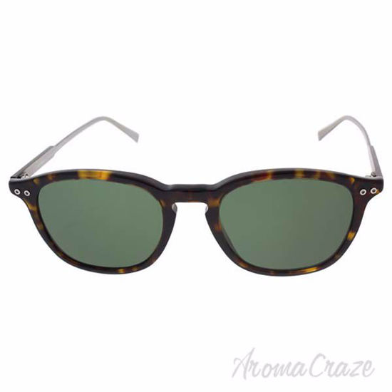 Picture of Mont Blanc MB599S 52R - Dark Tortoise/Green Polarized by Mont Blanc for Women - 49-19-145 mm Sunglasses