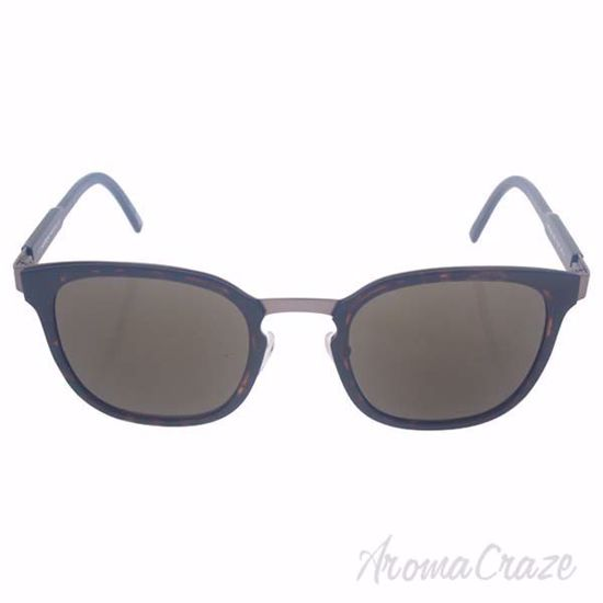 Picture of Mont Blanc MB603S 52E - Dark Havana/Brown by Mont Blanc for Men - 51-23-140 mm Sunglasses