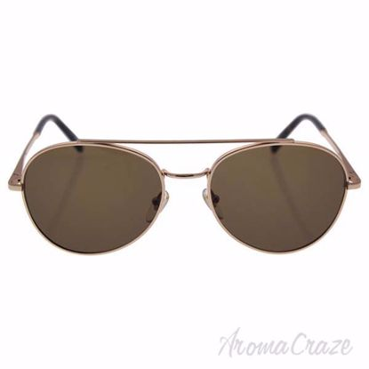 Mont Blanc MB605S 28J - Shiny Rose Gold/Brown by Mont Blanc