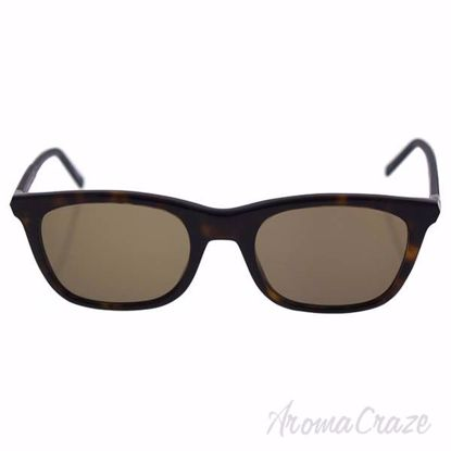 Mont Blanc MB607S 52J - Havana/Brown by Mont Blanc for Men -