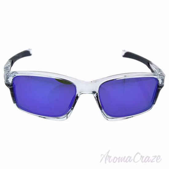 Picture of Oakley Chainlink OO9247-06 - Polished Clear/Violet Iridium by Oakley for Men - 57-17-138 mm Sunglasses