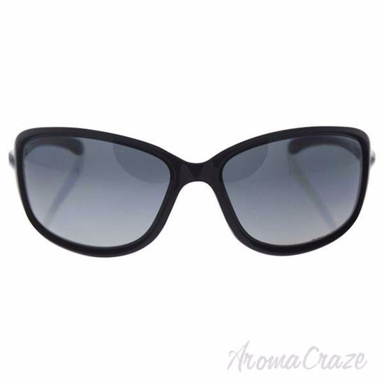 Picture of Oakley Cohort OO9301-04 - Polished Black/Grey Gradient Polarized by Oakley for Women - 62-14-130 mm Sunglasses
