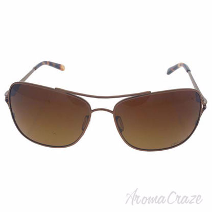 Oakley Conquest OO4101-01 - Satin Rose Gold/Brown Gradient P