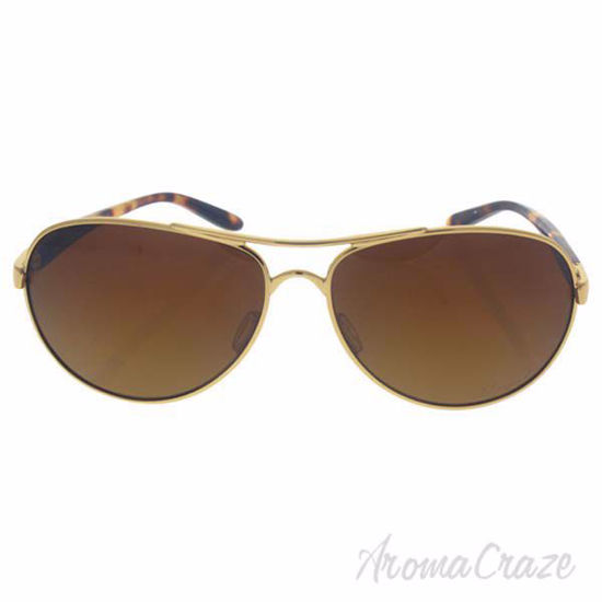 Picture of Oakley Feedback OO4079-11 - Polished Gold/Brown Gradient Polarized by Oakley for Women - 59-13-135 mm Sunglasses