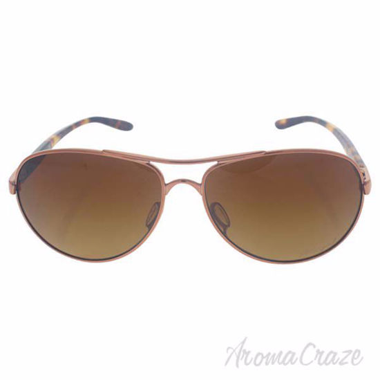 Oakley Feedback OO4079-14 - Rose Gold/Brown Gradient Polariz