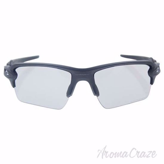 Oakley Flak 2.0 XL OO9188-16 - Steel/Clear Black Iridium Pho