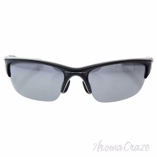 Picture of Oakley Half Jacket 2.0 OO9153-01 - Polished Black/Black Iridium by Oakley for Men - 62-15-133 mm Sunglasses