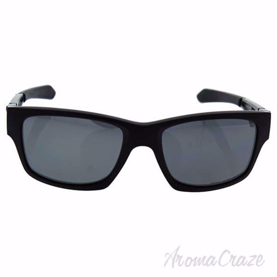 Picture of Oakley Jupiter Squared OO9135-09 - Matte Black/Black Iridium Polarized by Oakley for Men - 56-18-131 mm Sunglasses