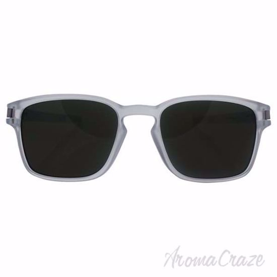 Picture of Oakley Latch SQ OO9353-07 - Matte Clear/Dark Grey by Oakley for Unisex - 52-19-139 mm Sunglasses