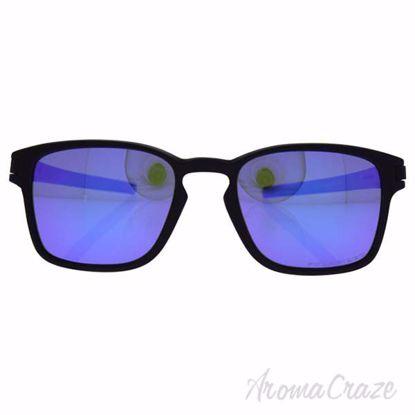 Oakley Latch Squared OO9353-04 - Matte Black/Violet Iridium