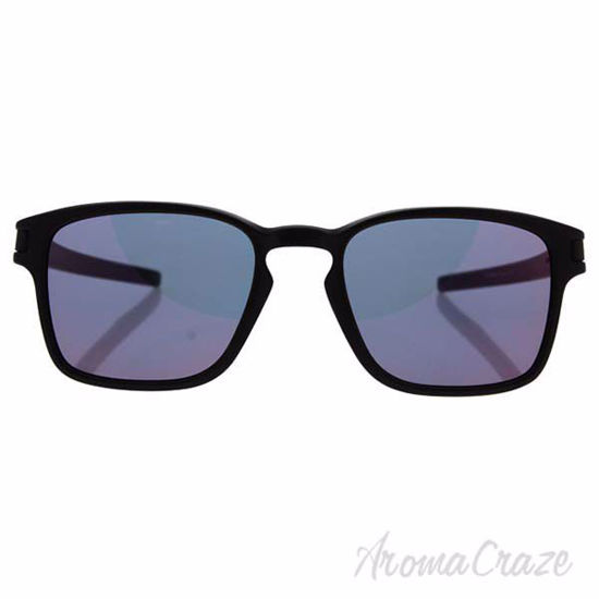 Picture of Oakley Latch Squared SQ OO9353-03 - Matte Black/Torch Iridium by Oakley for Unisex - 52-19-139 mm Sunglasses