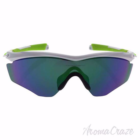 Picture of Oakley M2 Frame XL 009343-07 - Polished White/Jade Iridium by Oakley for Men - 45-45-121 mm Sunglasses