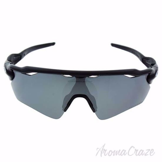 Picture of Oakley Radar Ev Path OO9208-07 - Black Shiny/Black Iridium Polarized by Oakley for Men - 38-00-128 mm Sunglasses