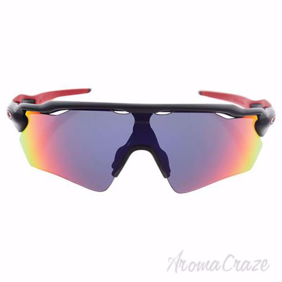 Picture of Oakley Radar EV Path OO9208-21 - Polished Black/Positive Red Iridium by Oakley for Men - 138-00-128 mm Sunglasses