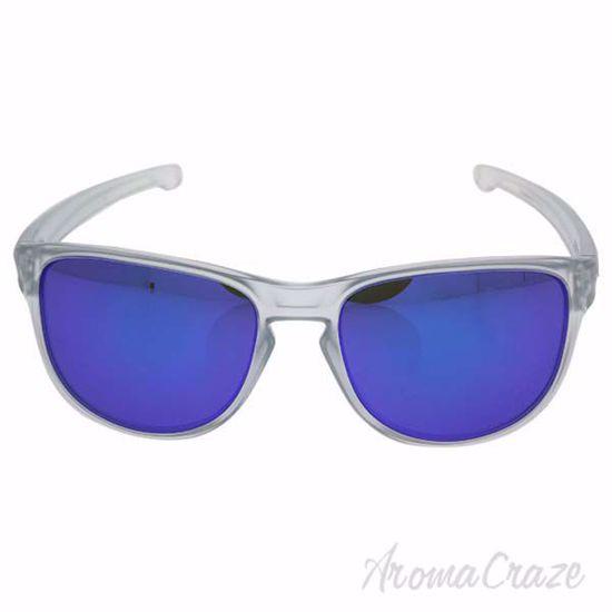 Oakley Silver R OO9342-02 - Matte Clear/Violet Iridium by Oa