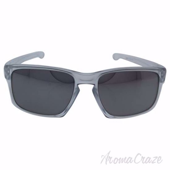 Picture of Oakley Sliver OO9262-23 - Silver Matte Clear/Chrome Iridium by Oakley for Men - 57-18-140 mm Sunglasses