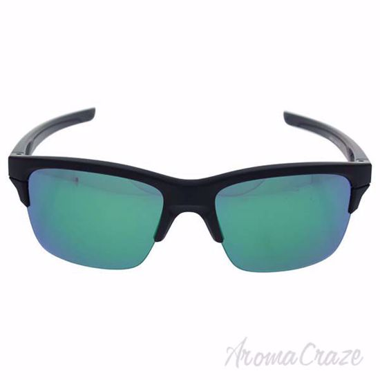 Picture of Oakley Thinlink OO9316-09 - Matte Black/Jade Iridium by Oakley for Unisex - 63-11-136 mm Sunglasses