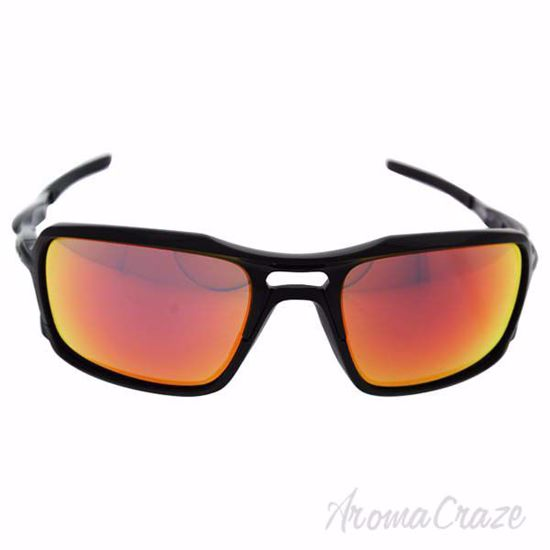Picture of Oakley Triggerman OO9266-03 - Polished Black/Ruby Iridium by Oakley for Men - 59-20-137 mm Sunglasses
