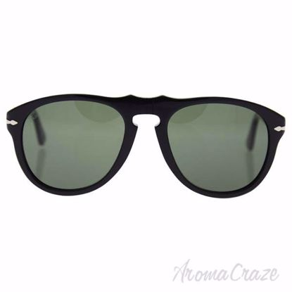 Persol PO0649 95/31 - Black/Green by Persol for Men - 54-20-