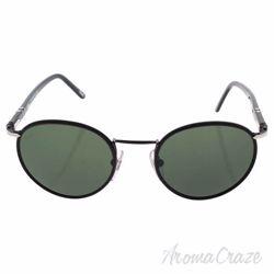 Persol PO2422SJ 986/31 - Shiny Black/Grey by Persol for Men - 49-20-145 mm Sunglasses