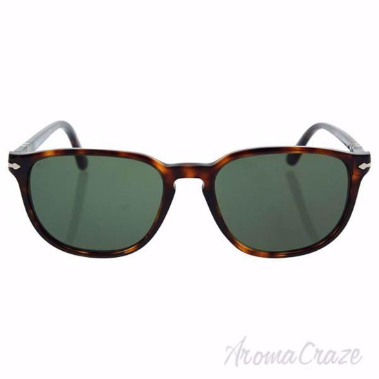 Persol PO3019S 24/31 - Havana/Crystal Green by Persol for Un