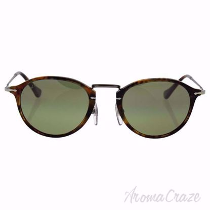 Persol PO3046S 108/83 - Caffe/Green Faded Polarized by Perso
