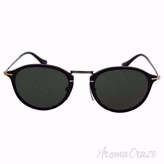 Picture of Persol PO3046S 95/58 - Black/Green Polarized by Persol for Men - 49-21-140 mm Sunglasses