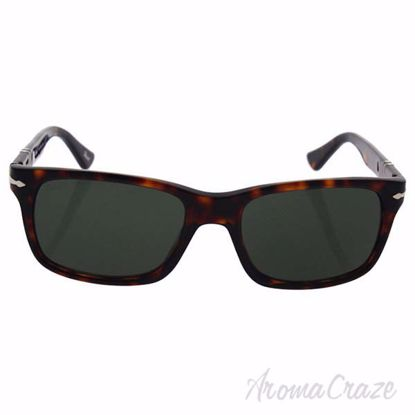 Persol PO3048S 24/31 - Havana/Crystal Green by Persol for Me