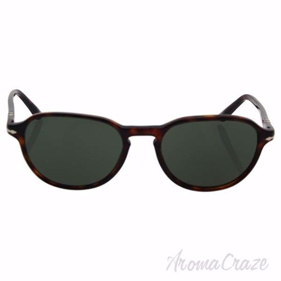 Picture of Persol PO3053S 9015/31 - Havana/Green by Persol for Men - 54-19-145 mm Sunglasses